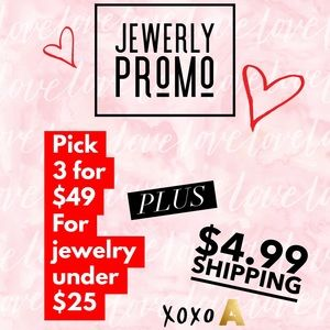 Pick 3 for $49 Jewerely bundle